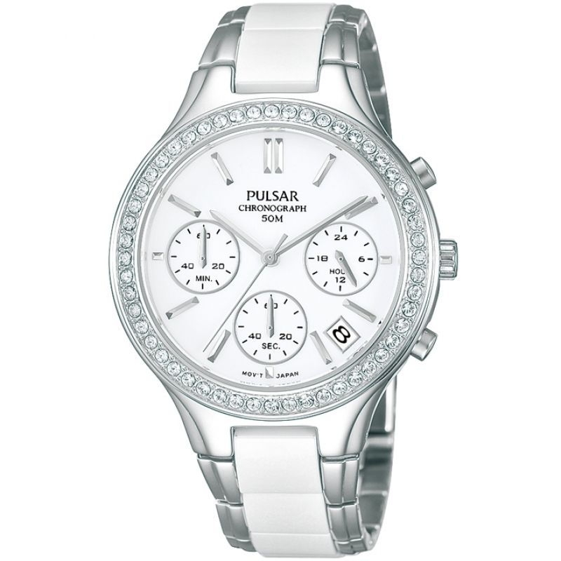 Image of  			   			  			   			  Ladies Pulsar Chronograph Watch