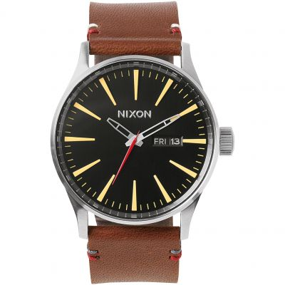 Orologio da Uomo Nixon The Sentry Leather A105-019
