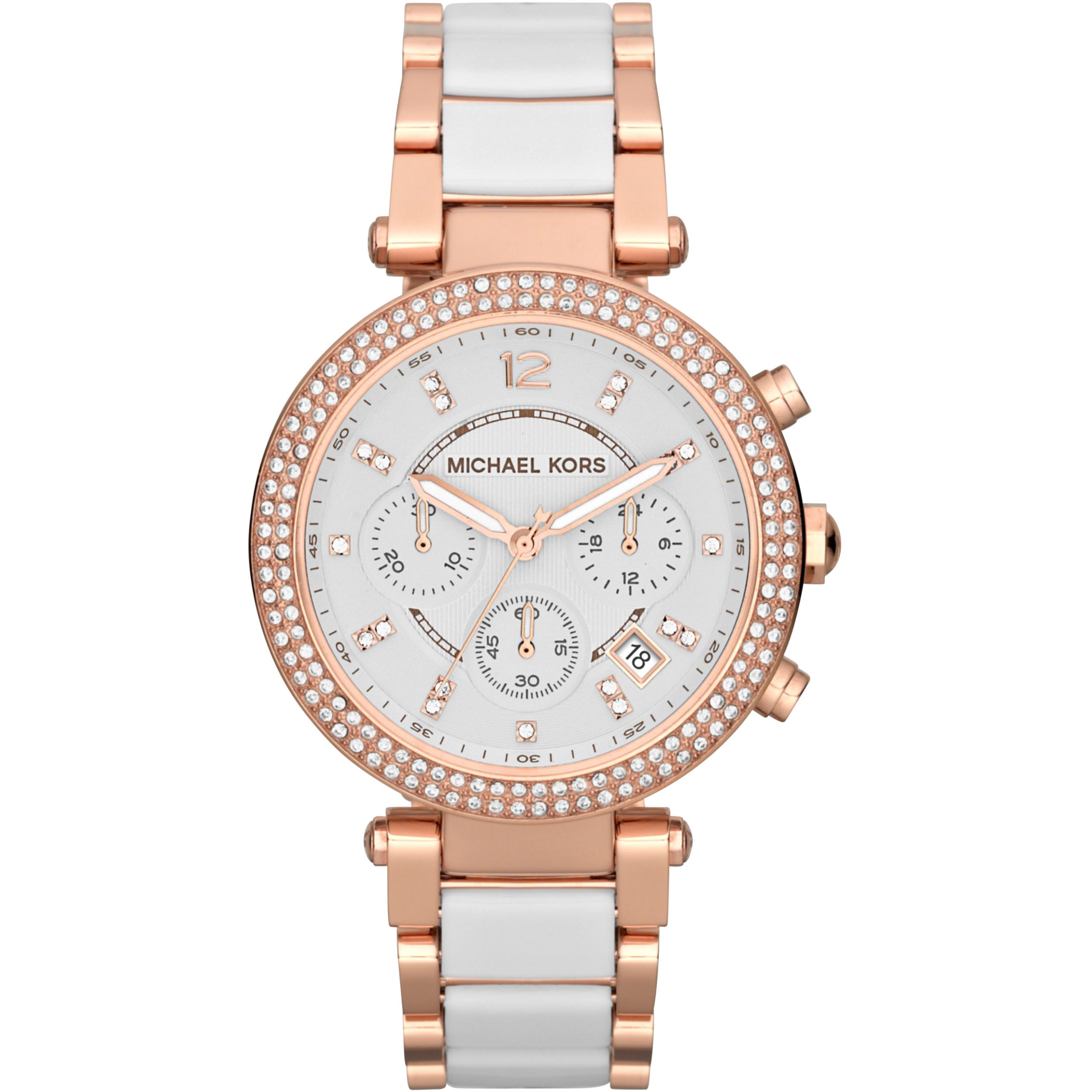 f22d58610e69 Ladies Michael Kors Parker Chronograph Watch (MK5774)