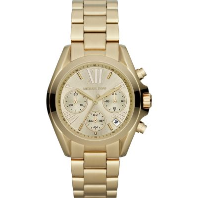 Michael Kors Mini Bradshaw Damenchronograph in Gold MK5798