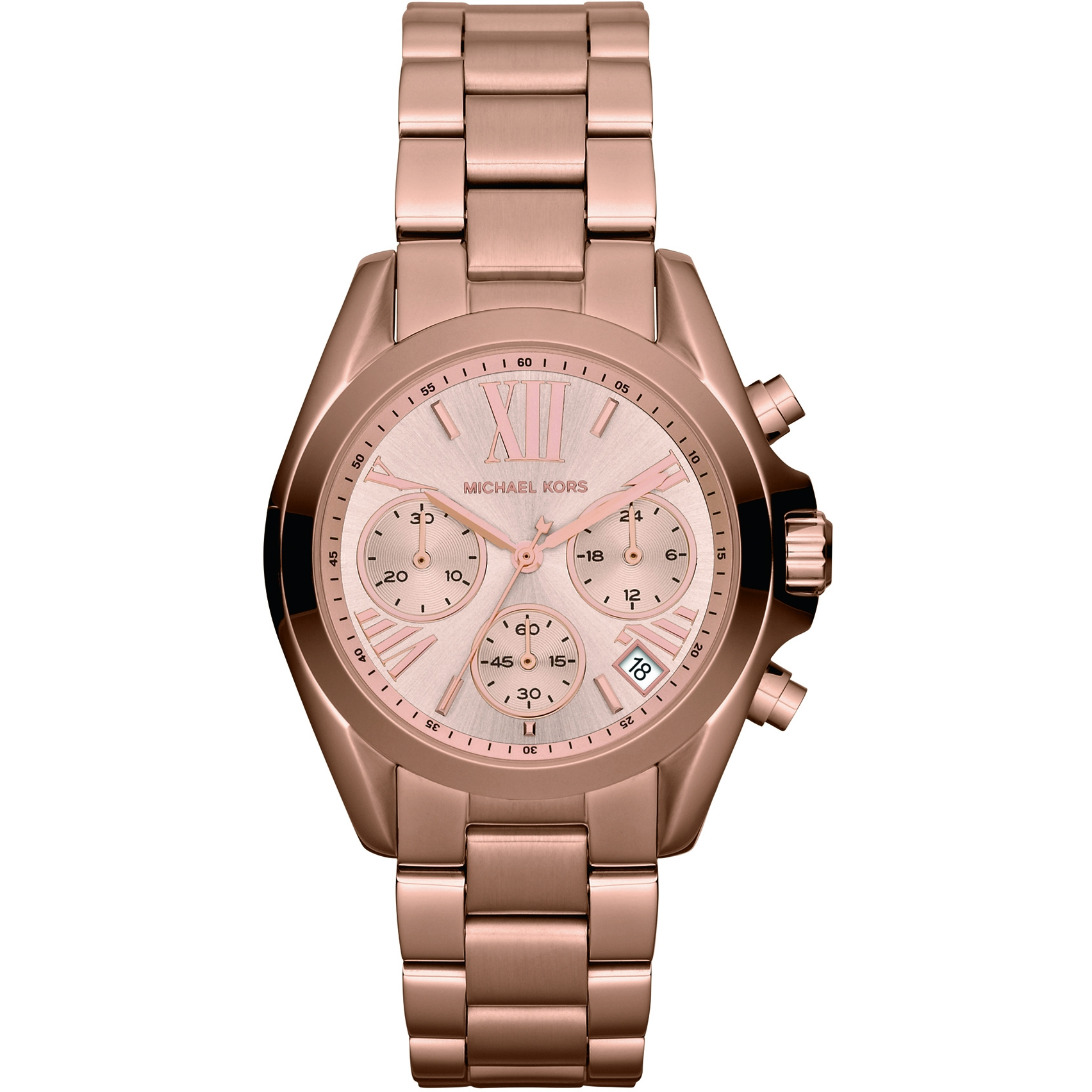4994a3b6c484 Ladies Michael Kors Bradshaw Mini Chronograph Watch (MK5799 ...