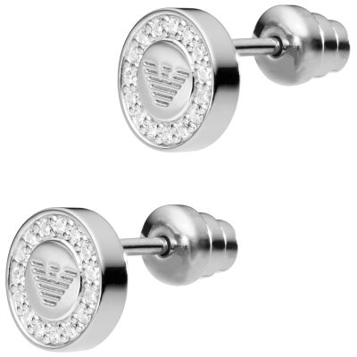 Emporio Armani Dames Signature Earrings Sterling Zilver EG3053040