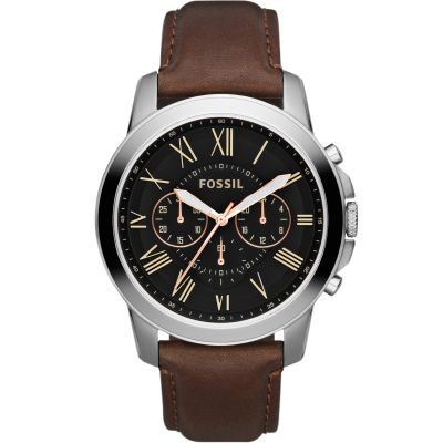 Fossil Grant Herrenuhr in Braun FS4813IE