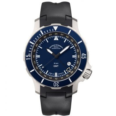 Mens Muhle Glashutte Seebataillon GMT Automatic Watch M1-28-62-KB