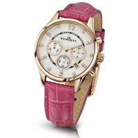Ladies Kennett Lady Savro Chronograph Watch LWSAVWHGOLPK