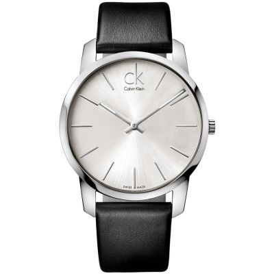 Calvin Klein City Herrenuhr in Schwarz K2G211C6