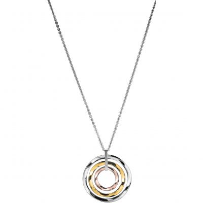 Ladies Calvin Klein Two-tone steel/gold plate Exclusive Necklace KJ0KDP300100