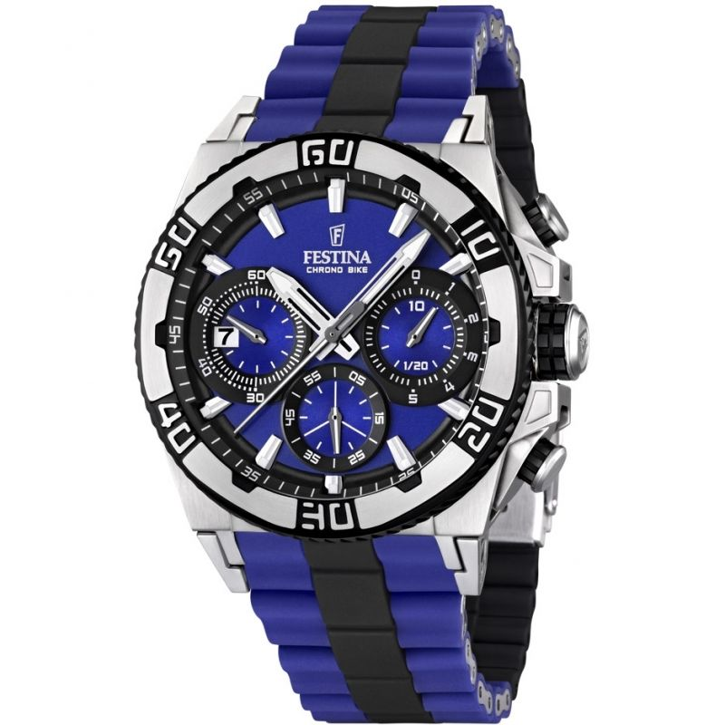 Mens Festina Chronobike 2013 Tour De France Chronograph Watch