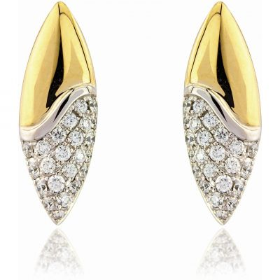 Jewellery 18ct Gold Earring