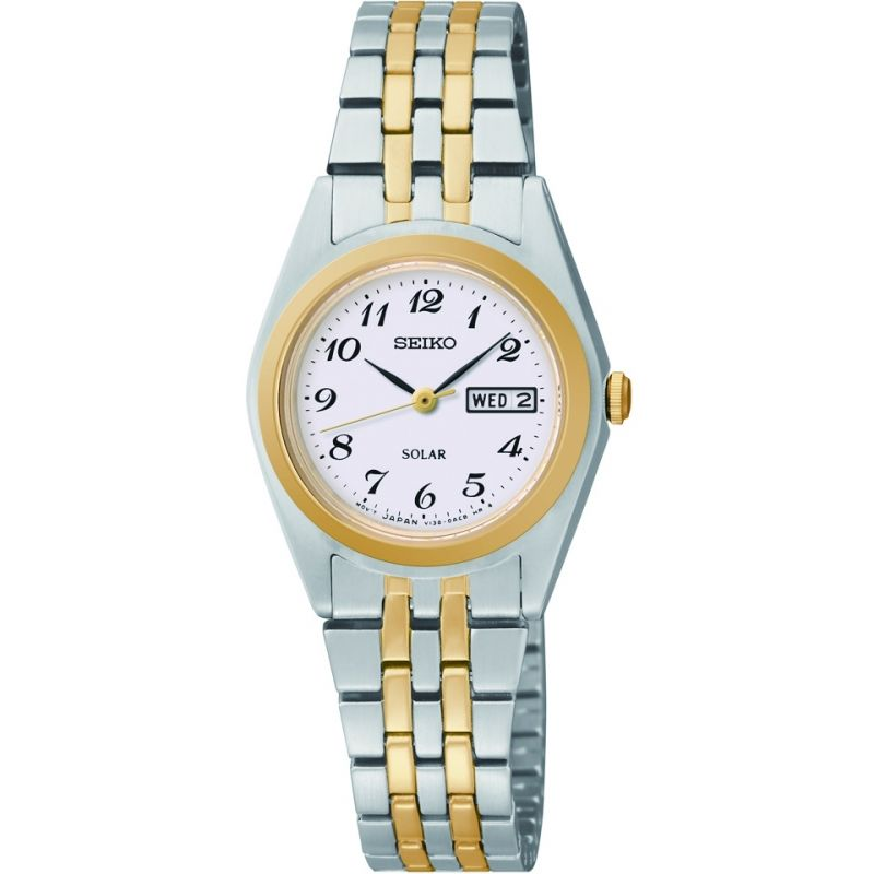 Ladies Seiko Solar Powered Watch SUT116P9