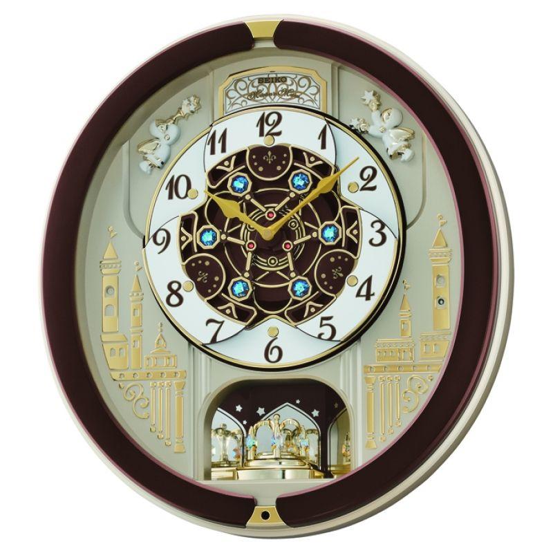 Seiko Clocks Musical Marionette Wall Alarm Clock