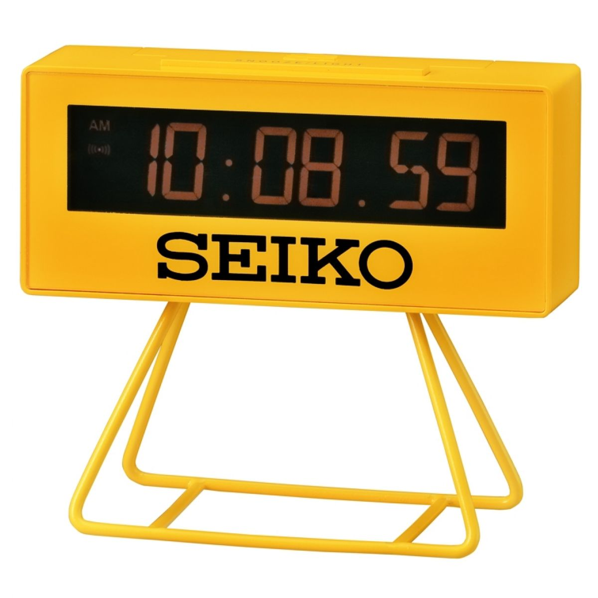 Seiko Clocks Countdown Style LCD Alarm Clock QHL062Y