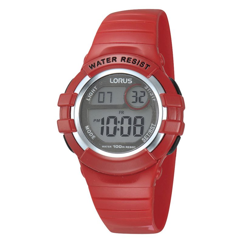 Childrens Lorus Alarm Chronograph Watch R2399HX9