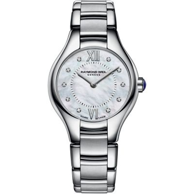 Ladies Raymond Weil Noemia 24mm Diamond Watch 5124-ST-00985