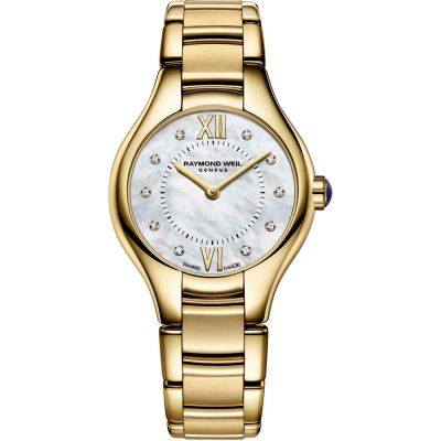 Ladies Raymond Weil Noemia 24mm Diamond Watch 5124-P-00985