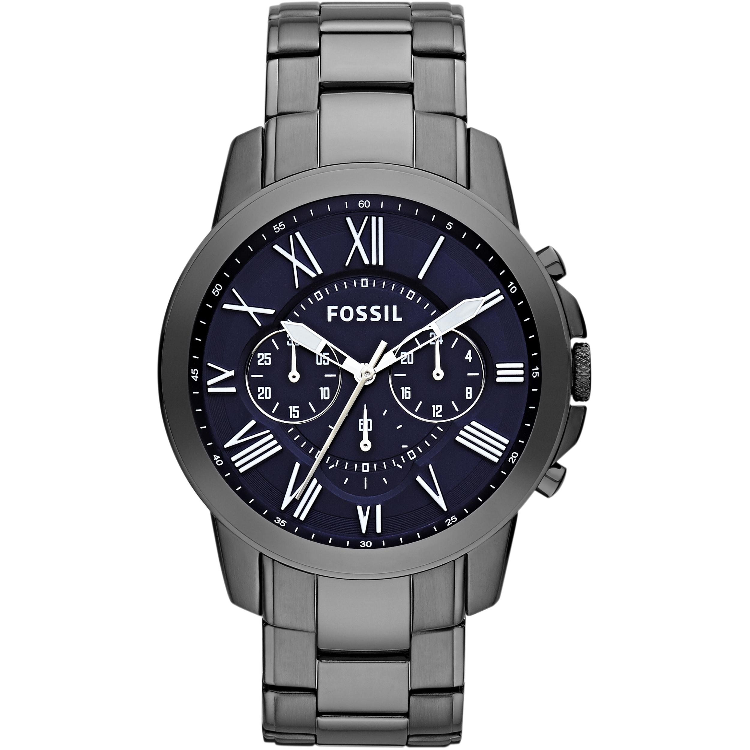 Gents Fossil Grant Chronograph Watch Fs4831 Fs5068
