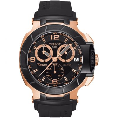 Mens Tissot T-Race Chronograph Watch T0484172705706