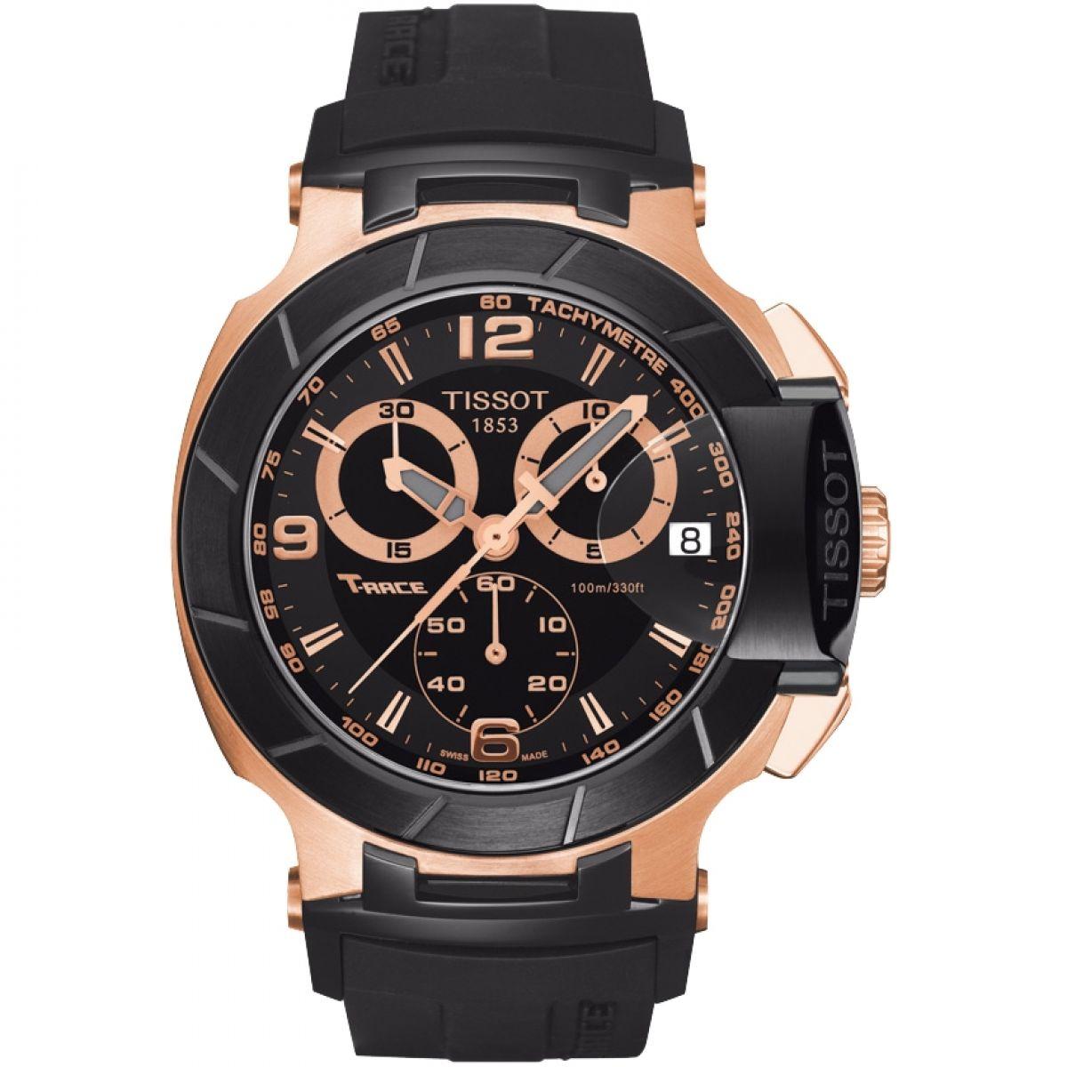 gents tissot t race chronograph watch t0484172705706. Black Bedroom Furniture Sets. Home Design Ideas