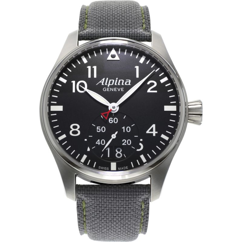 Mens Alpina Startimer Pilot Watch AL-280B4S6