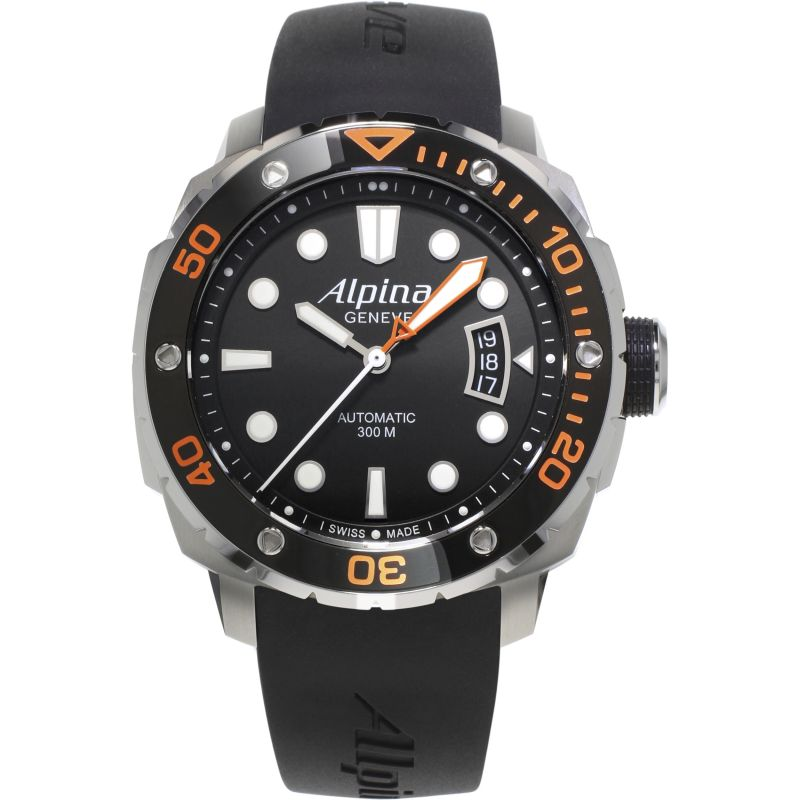 Mens Alpina Seastrong 300 Automatic Watch