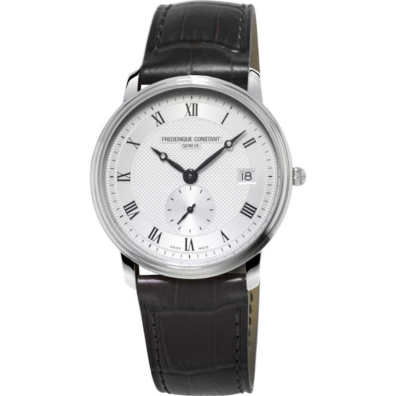 Mens Frederique Constant Slim Line Small Second Watch