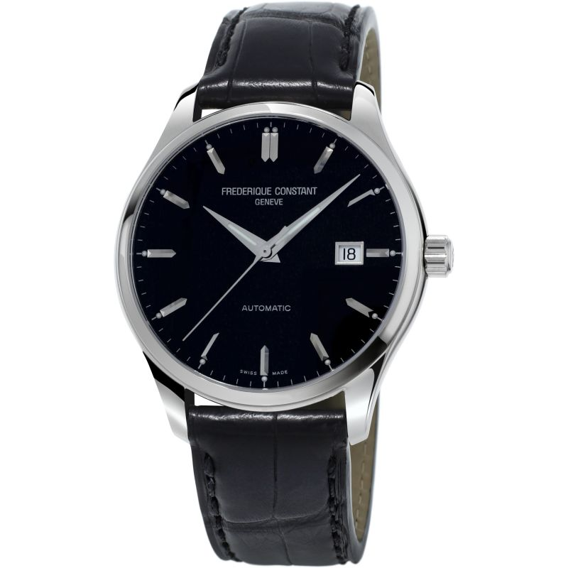 Mens Frederique Constant Index Slim Automatic Watch FC-303B5B6