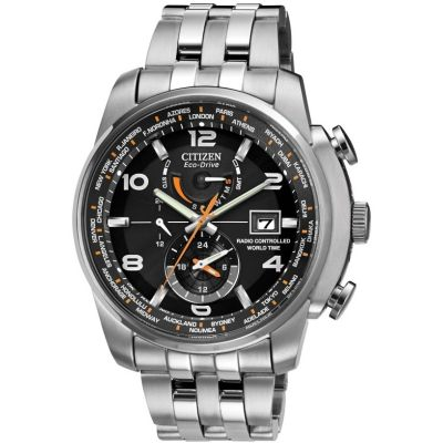 Citizen World Time A.T Herenhorloge Zilver AT9010-52E