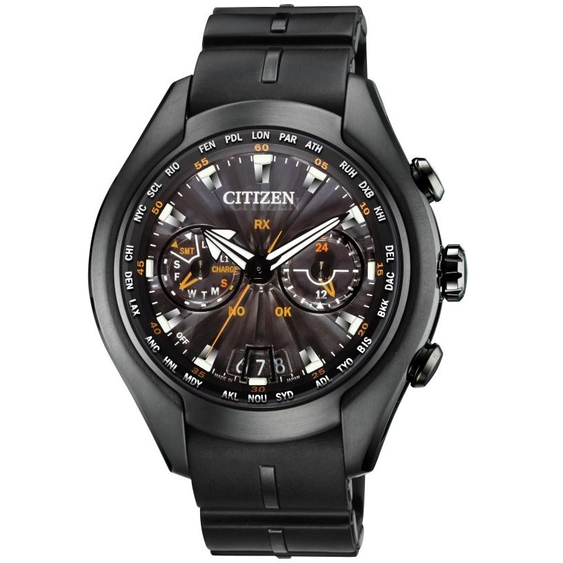 b721985d2c1 Gents Citizen Satellite Wave-Air GPS Watch (CC1076-02E)