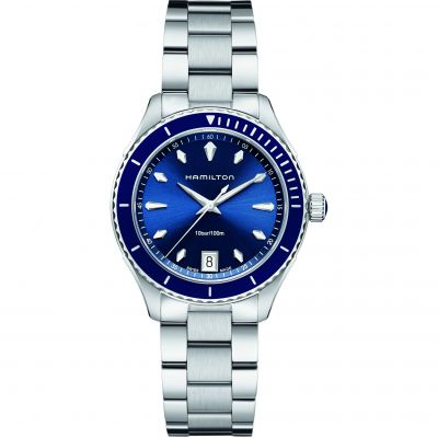 Ladies Hamilton Seaview Quartz Watch H37451141