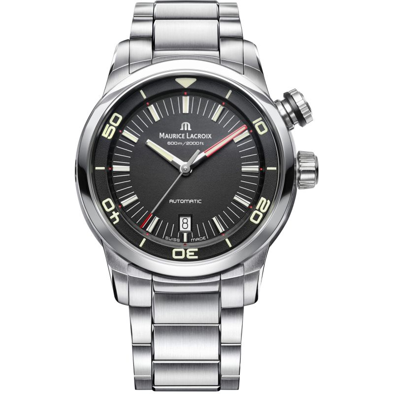 Mens Maurice Lacroix Pontos S Diver Automatic Watch