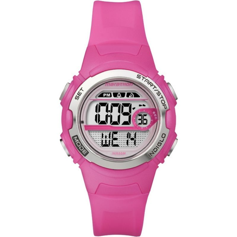 Image of  			   			  			   			  Childrens Timex Indiglo Marathon Alarm Watch