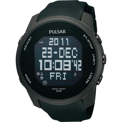 Mens Pulsar Alarm Chronograph Watch PQ2011X1