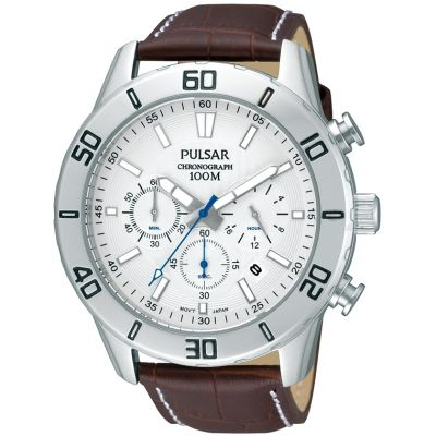 Mens Pulsar Chronograph Watch PT3433X1
