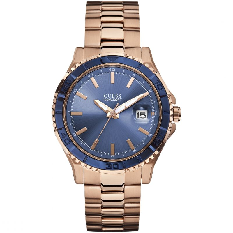 Mens Guess Plugged In Watch