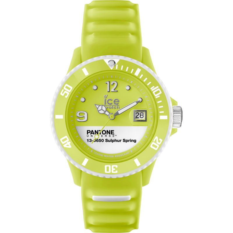 Unisex Ice-Watch Pantone Universe Sulphur Spring Watch PAN.BC.SUS.U.S.13