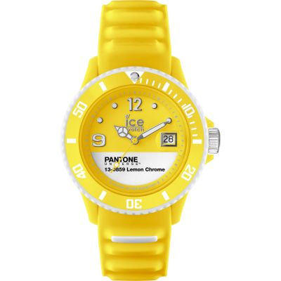 Unisex Ice-Watch Pantone Universe Lemon Chrome Watch PAN.BC.LEC.U.S.13