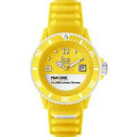 Unisex Ice-Watch Pantone Universe Lemon Chrome Watch