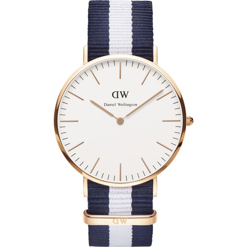 Mens Daniel Wellington Glasgow 40mm Watch DW00100004