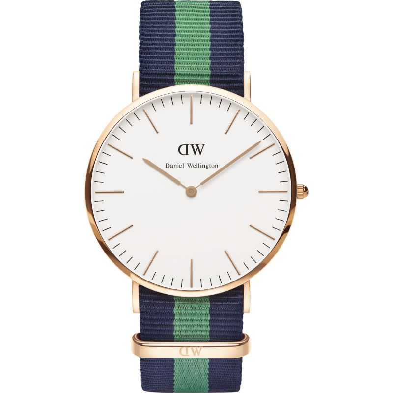 Mens Daniel Wellington Warwick 40mm Watch DW00100005