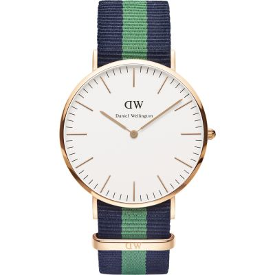 Daniel Wellington Warwick 40mm Herrenuhr in Mehrfarbig DW00100005