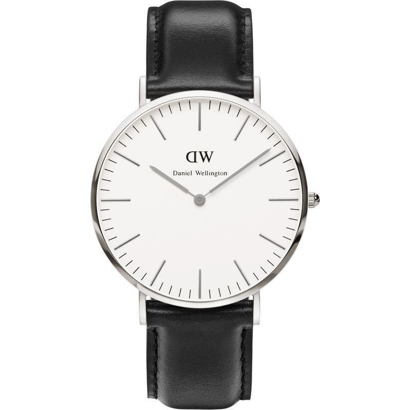 Mens Daniel Wellington Sheffield Silver 40mm Watch