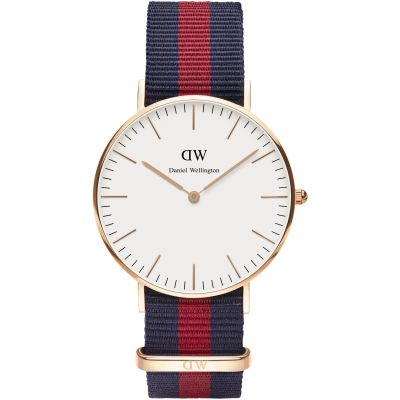 Ladies Daniel Wellington Oxford Rose 36mm Watch DW00100029