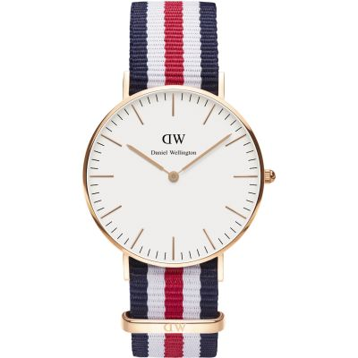 Ladies Daniel Wellington Canterbury Rose 36mm Watch DW00100030