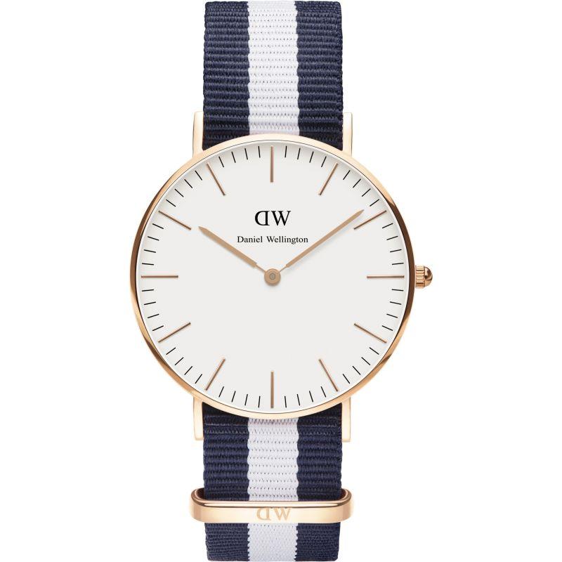 Ladies Daniel Wellington Glasgow Rose 36mm Watch