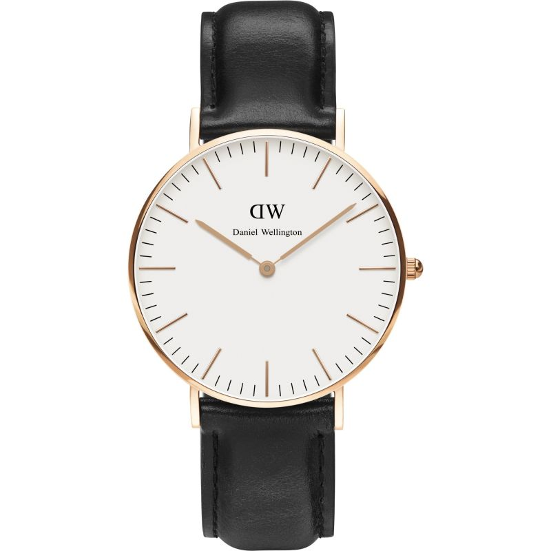 Ladies Daniel Wellington Sheffield Rose 36mm Watch