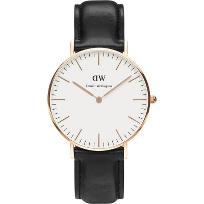 Ladies Daniel Wellington Sheffield Rose 36mm Watch DW00100036