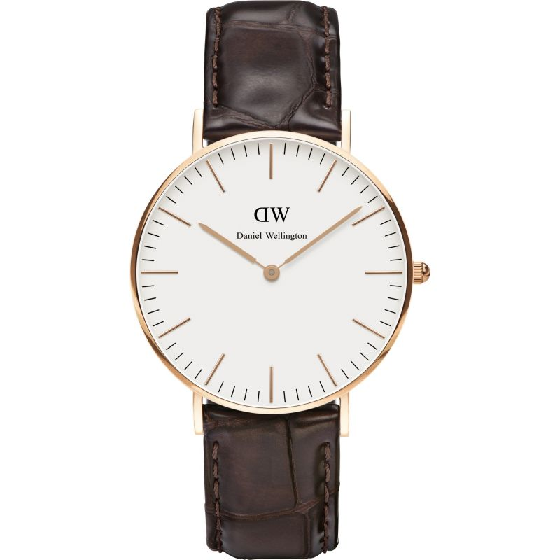 Ladies Daniel Wellington York Rose 36mm Watch DW00100038