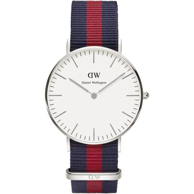 Ladies Daniel Wellington Oxford Silver 36mm Watch DW00100046