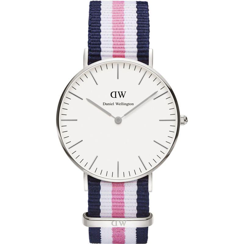 Ladies Daniel Wellington Southampton Silver 36mm Watch