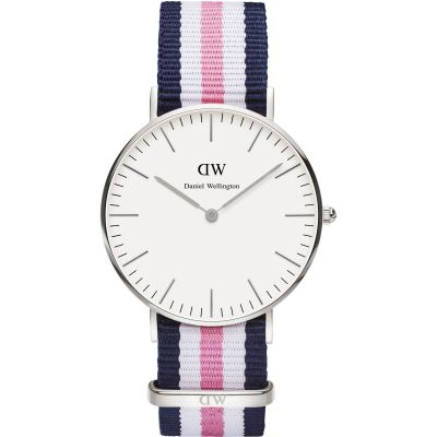 Ladies Daniel Wellington Southampton Silver 36mm Watch DW00100050